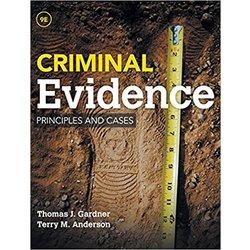 USED || GARDNER / CRIMINAL EVIDENCE