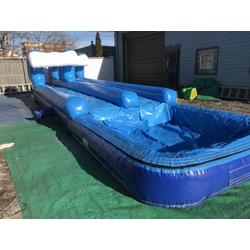 Dual Wave Slip N Slide/Big Pool
