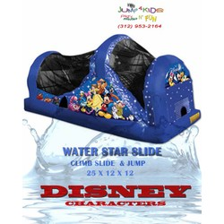 Water Star Slide