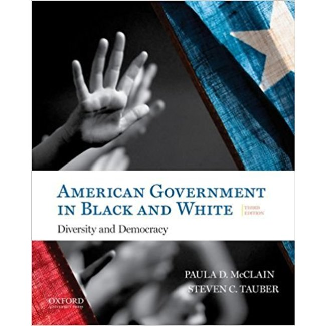 NEW || MCCLAIN / AMERICAN GOVERNMENT IN BLACK & WHITE