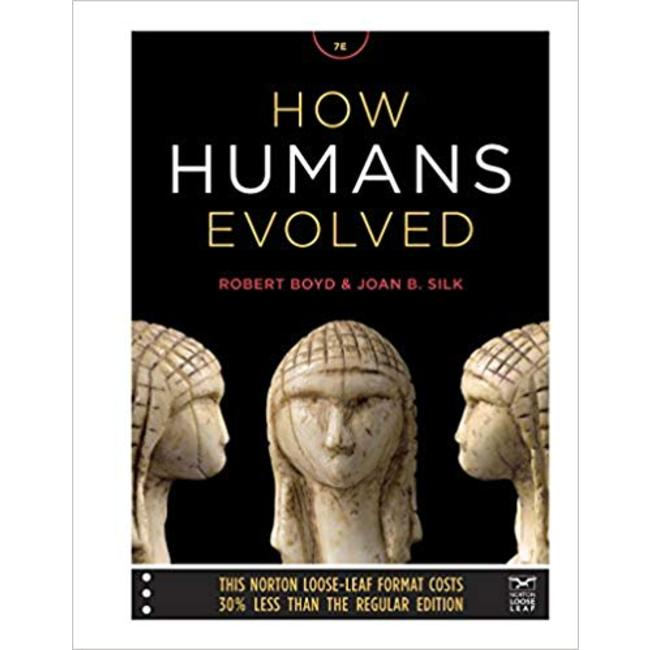 USED || BOYD / HOW HUMANS EVOLVED ED-7 PA