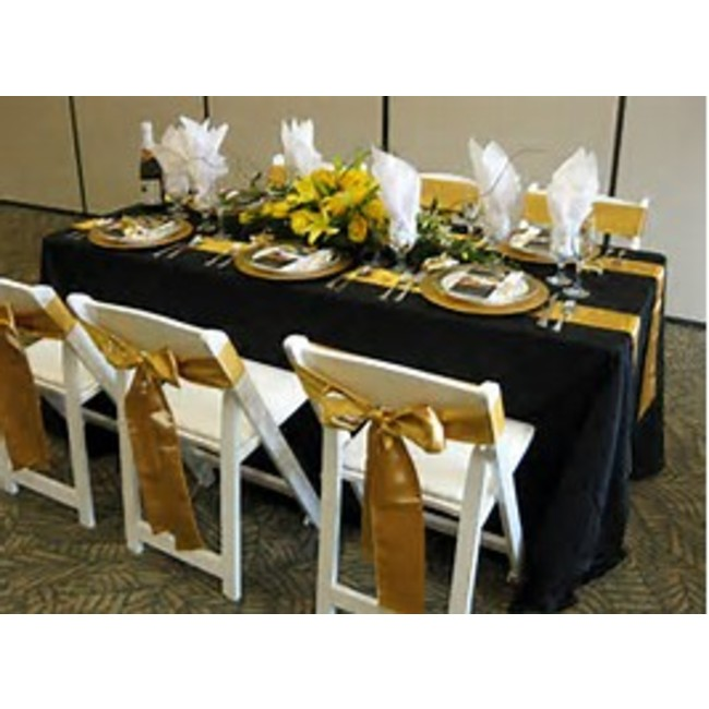 5' BANQUET FOLDING TABLE WOODEN