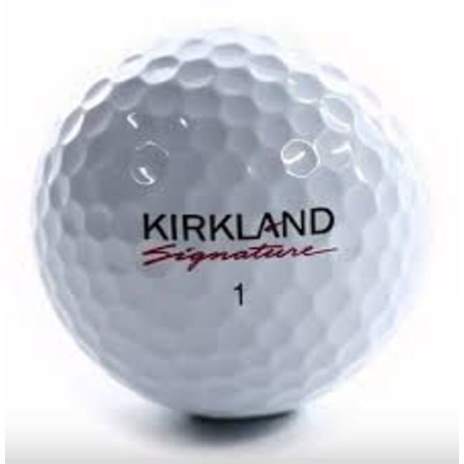 Kirkland Golf Balls (Sleeve of 3 Balls)
