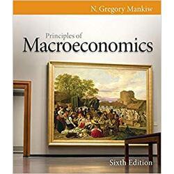 USED || MANKIW / PRINC OF MACROECON 6th