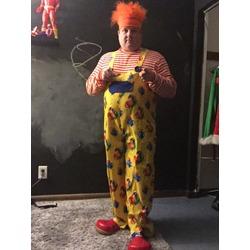 Looney ballooned guy
