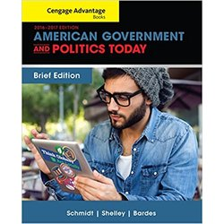 USED || SCHMIDT / AMERICAN GOV & POL TODAY BRIEF ED 2016-2017
