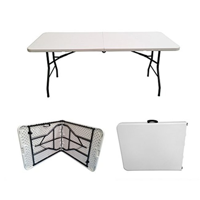 6 Ft. Foldable Banquet Table
