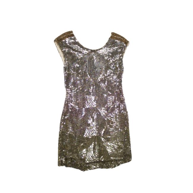 Shades Gold sequins dress