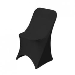 Chair & black stretch chair cover