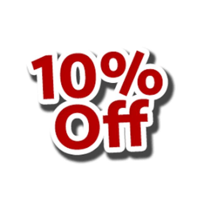 10% OFF School - Church