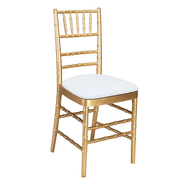 Gold Chivari Chair