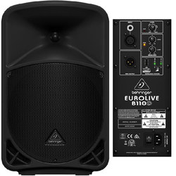 Speaker, Powered, Behringer B110D
