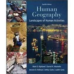 USED || BJELLAND / HUMAN GEOGRAPHY