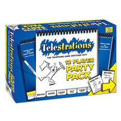Telestrations! Party Pack 12 Players
