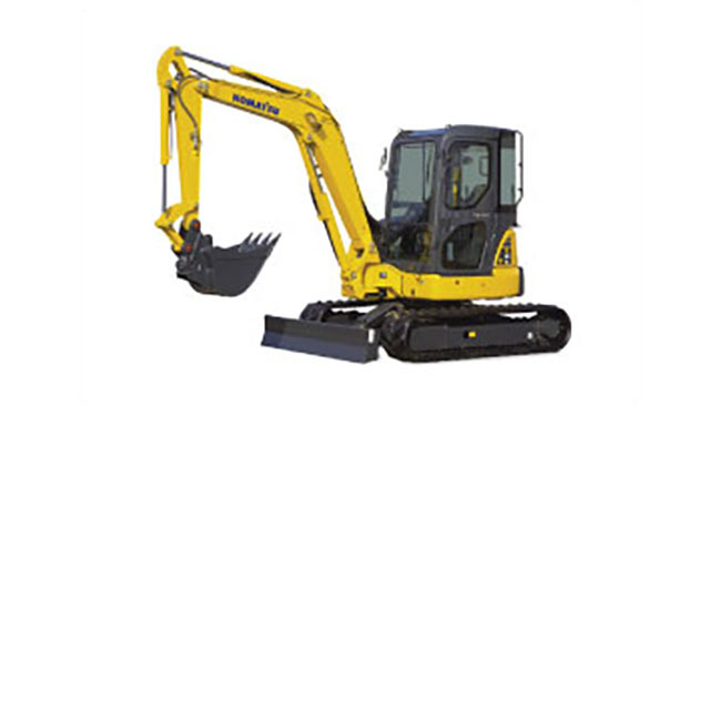 Komatsu PC45 Compact Excavator, 9,545 lb, and comparable models