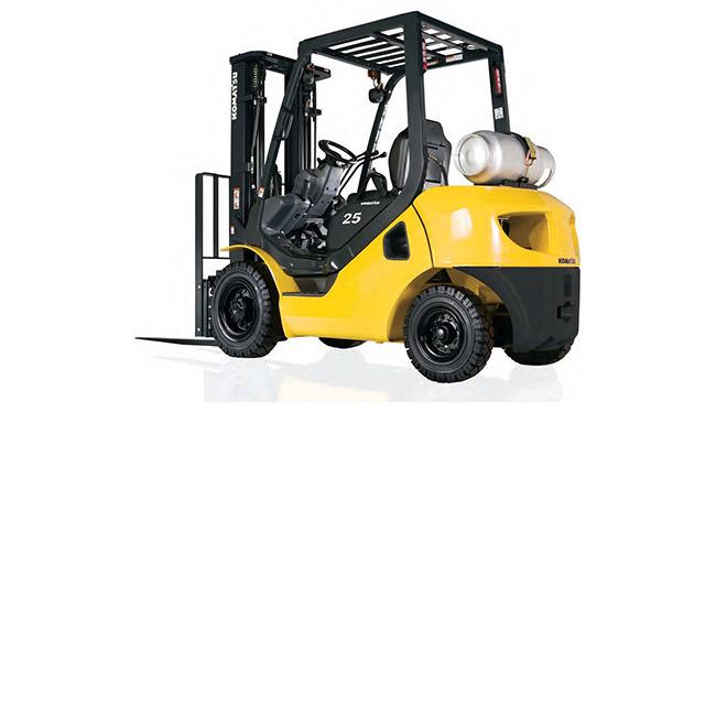 Komatsu FG25 Forklift, 5,000 lb cap