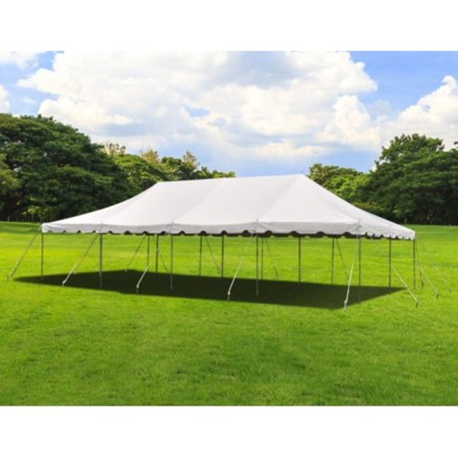 Pole Tent 20x40 White