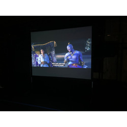 Backyard Movie Screen/projetor
