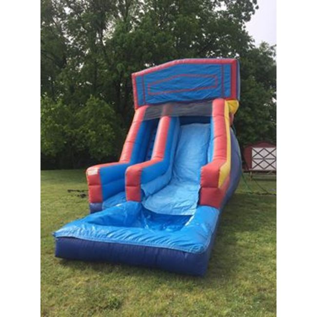 18ft Banner Waterslide with Pool