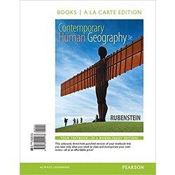 NEW    RUBENSTEIN / CONTEMPORARY HUMAN GEOGRAPHY A LA CARTE (LOOSE-LEAF)
