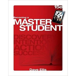 Used| ELLIS / BECOMING A MASTER STUDENT| Instructor: FLORES-OLSON