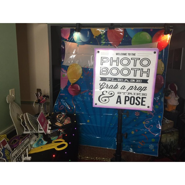 giant photo booth for kids happy birthday