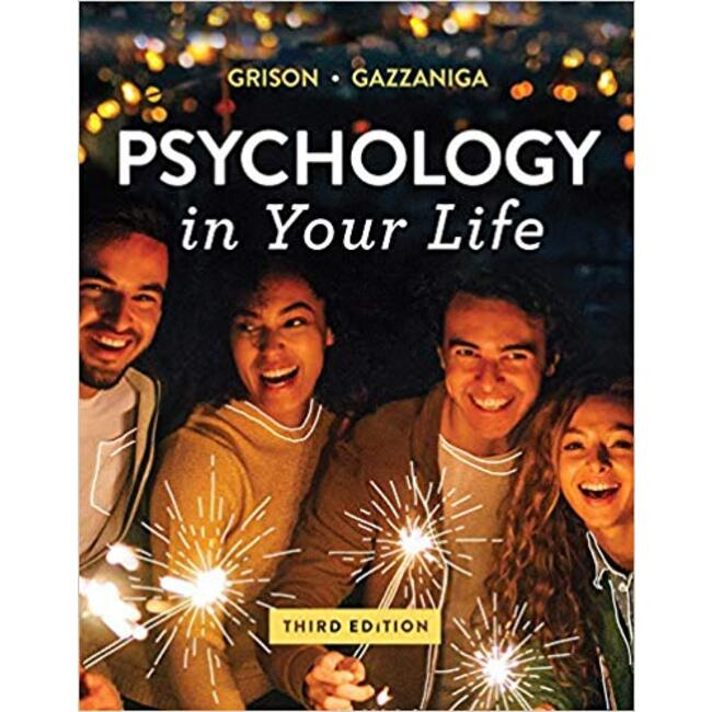 USED    GRISON / PSYCH IN YOUR LIFE 3rd (LOOSE-LEAF)