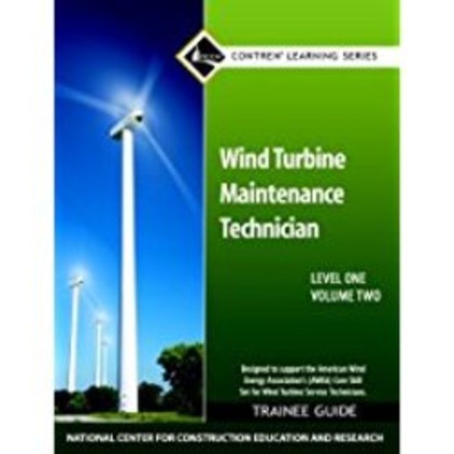 New| NCCER / WIND TURBINE MAINTENANCE TRAINEE GUIDE (V2)| Instructor: LINDY