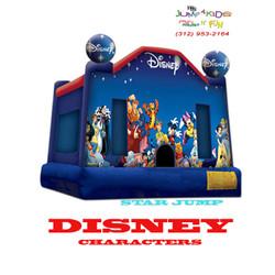 Large Star Disney Jump