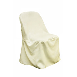 Ivory Fitted Chair Covers- Samsonnite Chair