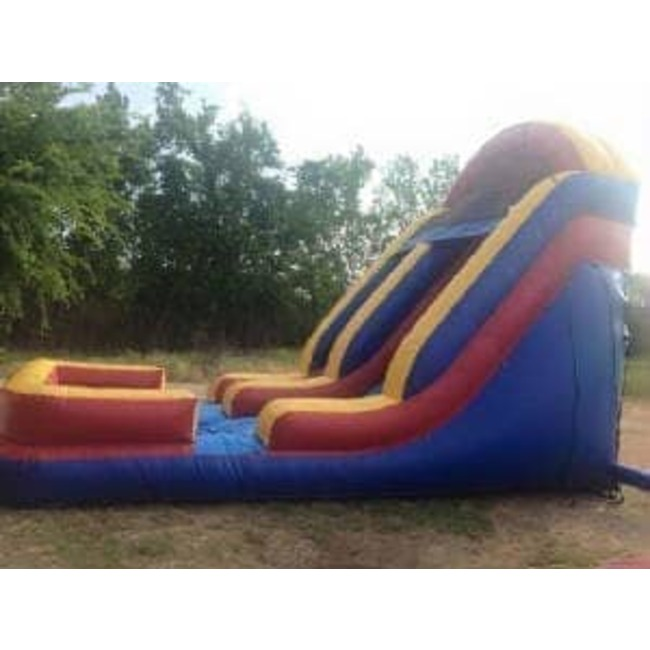 18ft Waterslide with Pool